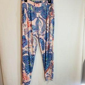 Express paisley pants